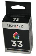 Lexmark 33 Color OEM Genuine BLACK Ink Print Cartridge P X Z Series Printers