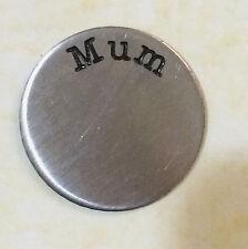 Floating Memory Locket S/Steel Plate - MUM - fits 30mm locket
