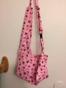 Pink Paw Print Puppy Shoulder Bag Carrier Dog Pet Carols Crate Covers