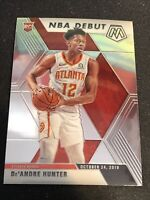 2019-2020 Panini Mosaic Deandre Hunter Nba Debut Rookie Base