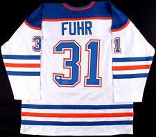 Grant Fuhr Signed Edmonton Oilers Jersey (JSA COA)