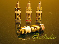 4 pcs Professional Gold Plated Binding Post for Speaker & Amplifier