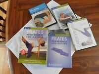 Pilates Powerhouse Collection DVDs w/new bodyband  3 Workouts