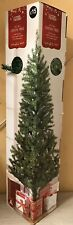 6FT GREEN CHRISTMAS TREE BRAND NEW HOME PLASTIC STAND DECORATE 400 TREE TIP