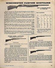 1975 WINCHESTER 12 Slide Action 12 gauge 21 Custom Pigeon Grand American AD