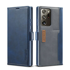 For Samsung Galaxy Note 20 Ultra Leather Wallet Flip Case Stand Card Slot Cover
