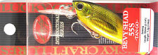 Lucky Craft Japan Bevy Shad 55S ~Tango~ - 01180006 Gold Black - Kink