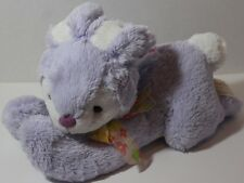 Dan Dee PASTEL PURPLE EASTER BUNNY Lying Carrot STUFFED PLUSH ANIMAL Soft Toy