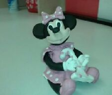 Minnie Mouse Birthday Cake Topper Personalized Handmade