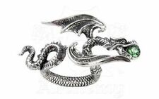 Starchaser Dragon Ring Size L-n - Alchemy Gothic Jewellery R190