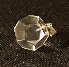 PENDENTIF dodecaedre Solide de PLaton En Quartz