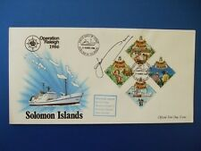 1986 OPERATION RALEIGH SOLOMON ISLES COVER SIGNED BY COL JOHN BLASHFORD SNELL
