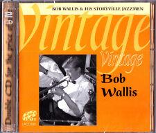 Bob Wallis & His Storyville Jazzmen-Vintage 2 x CD (NEW Lake 2010) Trad Jazz