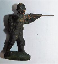 HINDENBURG ANCIEN SOLDAT 105mm SOLDAT ALLEMAND TIREUR DEBOUT WWI COMPOSITION