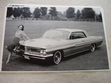 1962 PONTIAC GRAND PRIX  11 X 17  PHOTO  PICTURE