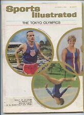 Sports Illustrated Tokyo Oympics 1964 Dyrol Burleson Henry Carr Schollander