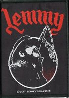 Motorhead Lemmy Microphone Woven Patch
