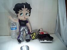 RARE BETTY BOOP PIANO ASHTRAY BY VANDOR 1984 JAPAN AND BETTY ROCKS DOLL