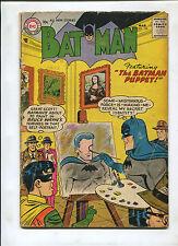 BATMAN #106 (4.0) THE BATMAN PUPPET!