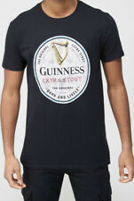 """More details for ** 2 ** official guinness collectors black t shirts size m 37""""/94cm nwt"""