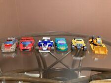 Playskool Transformers Go-Bots LOT OF 6 Mirage, Buzzer, Fire, Speed, Strong X 2