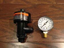 NEW Pentair 98209800 High Flow Manual Air Relief Valve & Pressure Gauge