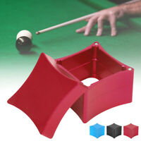 Snooker Chalk Holder Magnetic Stick Billiard Pool Cue Tip Pricker Case Box Tools