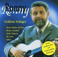 Ronny - Goldene Schlager - CD Neu Beste Hits - My Bonnie Is Over The Ocean