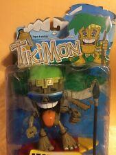"Tikimon Figure ""Monsoon"" Hawaiian - Polynesian Tiki Culture 2004 Mezco Toys New"