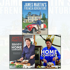 James Martin French Adventure Collection 3 Books Set More Home Comforts Pack NEW
