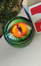 Brunswick Alligator Reptile Lizard Eye Glow Viz-A-Ball Bowling Ball 8 lbs w/box
