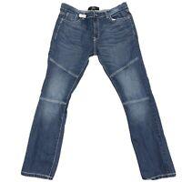 Code One Mens Dark Wash Denim Jeans Size 38 X 34 1230