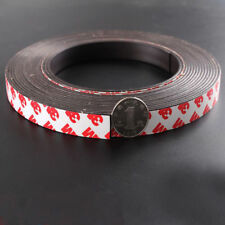 1M Self Adhesive Magnetic Tape Flexible Craft Sticky Magnet Strip Width 10* 2mm