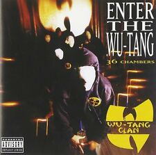 WU-TANG CLAN CD - ENTER THE WU-TANG: 36 CHAMBERS (1993) - NEW UNOPENED - RAP