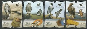 Portugal 2013 Birds of prey 4 MNH stamps
