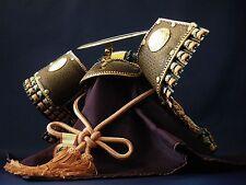 Samurai Kabuto Helmet -Uesugi Kenshin- 上杉謙信 Real Deer Leather Using