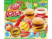 Kracie Hamburder kit Happy kitchen popin cookin Japanese DIY making candy kits