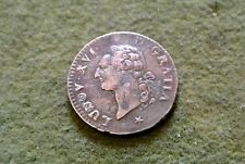 LOUIS XVI dernier SOL ECU royaux frappée 1791 LILLE TTB /SUP RARE