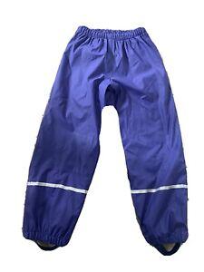 Girls Waterproof Fleece Trousers Size 6-8