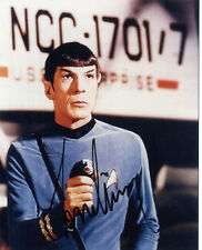 LEONARD NIMOY 'STAR TREK' Signed Photograph - TV Actor - Preprint
