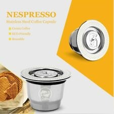 Nespresso Reutilisable Refillable Capsule Crema Espresso Reusable New Refillable