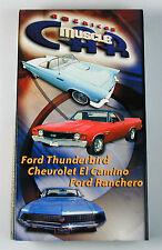 American Muscle Car Video Ford Thunderbird, Ranchero & El Camino & Free Shipping