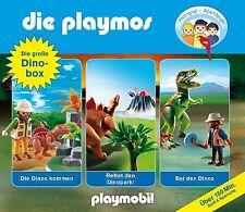 3 CDs * DIE PLAYMOS - Die große Dino - Box  # NEU OVP  &