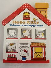 Sanrio Hello Kitty Notepad House