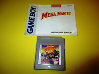 Mega Man IV Megaman 4 Nintendo Game Boy Gameboy Game Color Advance SP w/Manual