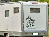 wohnmobil wohnwagen caravan aufkleber smiley smilie. Black Bedroom Furniture Sets. Home Design Ideas