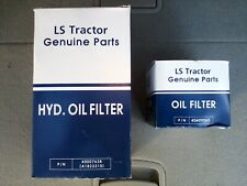 LS TRACTOR 50 HOUR FILTER SERVICE ENG OIL / HYD SYS OEM FILTERS Mtron Ltd 300 Hr
