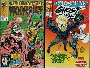 WOLVERINE #126  (NM) Flip Comic Ghost Rider She-Hulk Typhoid Mary   A1.473