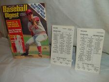 Strat-O-Matic Baseball Team 1977 Cincinnati Reds (2-sided) +1978 Baseball Digest