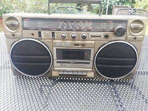 Radiorecorder/Ghettoblaster Sharp GF-5757- made in Japan -lesen